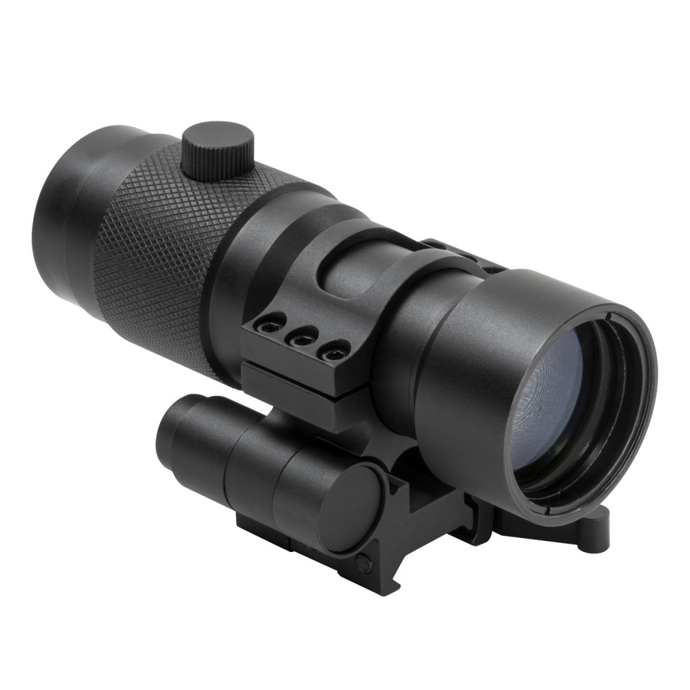 NcStar 3X Magnifier  & Flip To Side QR Mount