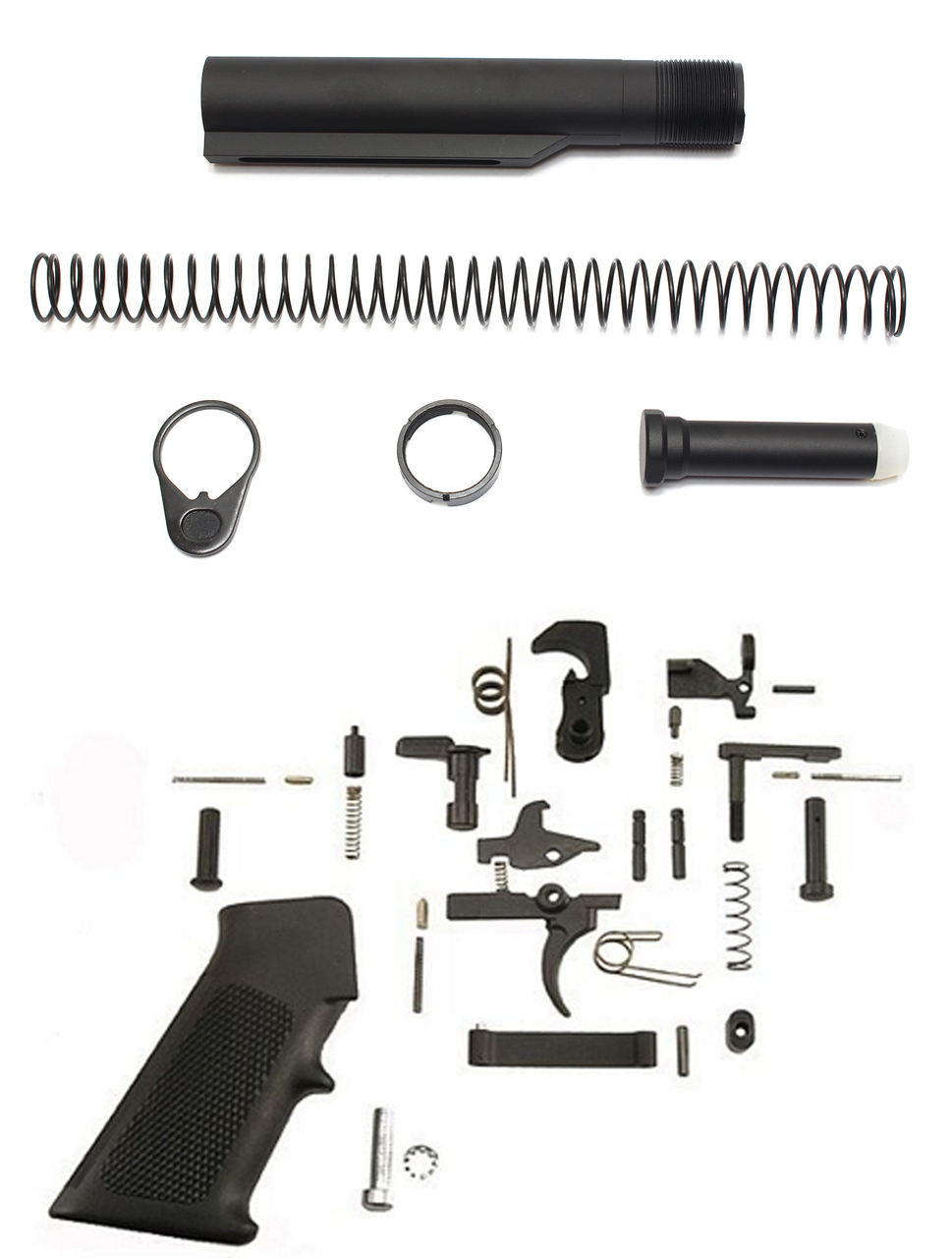 Davidson Defense Mil-Spec Lower Build Kit