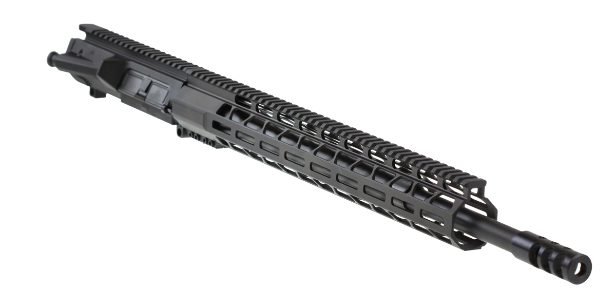 "Davidson Defense M5 LR-308 ""Reaver"" Assembled Upper  20"" Match .308 Win 1-10T QPQ Nitride Medium Tapered Barrel  Premium 17"" MLOK Handguard"