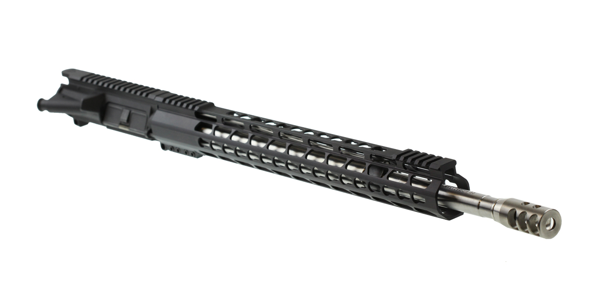 "MMC Armory ""Ice Pick"" Ar-15 Assembled Upper 20"" Ultra-Match 6.5 Grendel Stainless HBAR 1-8T Barrel Keymod Handguard"
