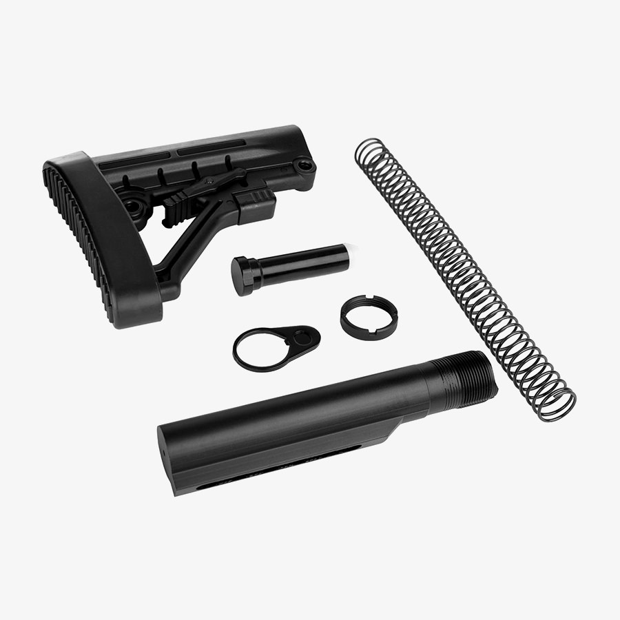 Trinity Force Enhanced AR-15 M4 Collapsible Stock & Complete Mil Spec Buffer Tube Kit