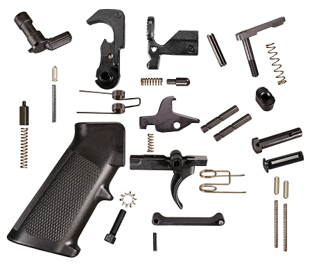 KAK Industries Mil-Spec Quality Lower Parts Kit (LPK) For AR-15 100% USA MADE