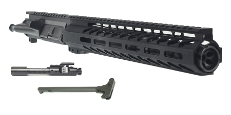 "Davidson Defense ""Rhea"" AR-15 Pistol Upper Receiver 10.5"" 5.56 NATO 4150 CMV 1-7T Barrel 12"" M-Lok Handguard (Assembled or Unassembled)"