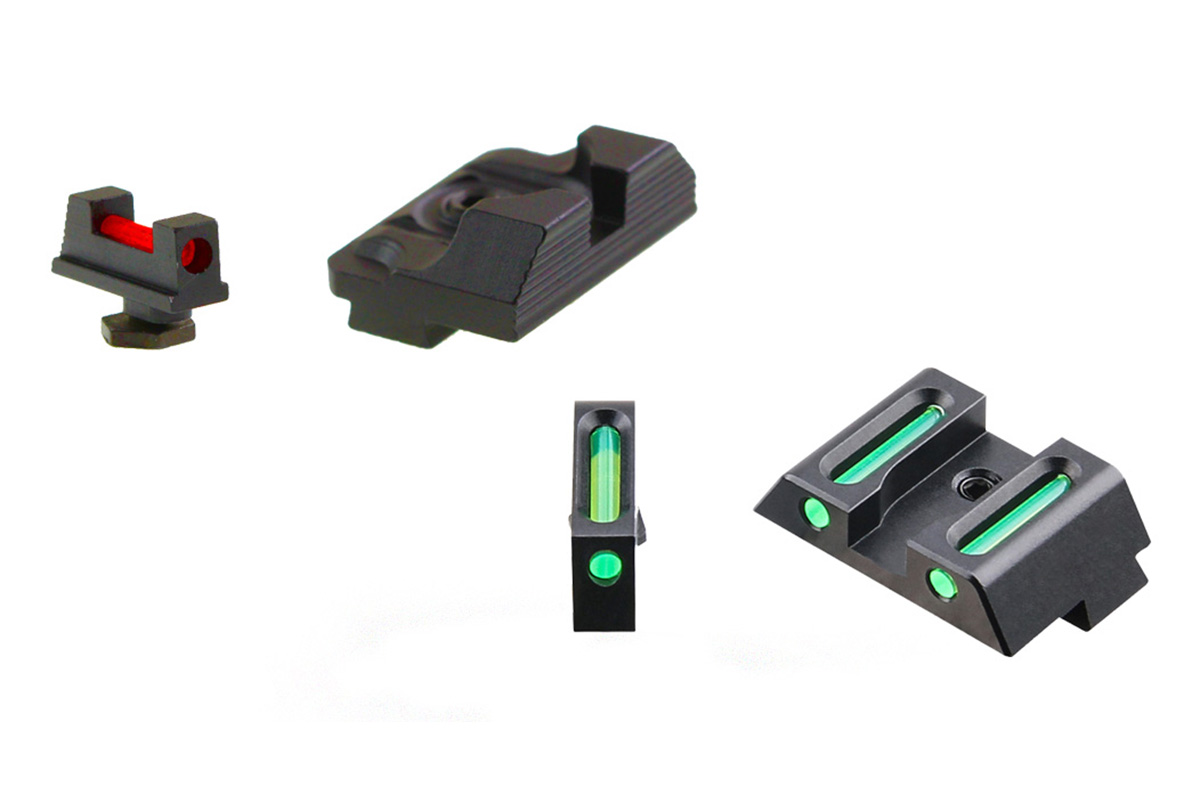 Vector Optics Glock Sights - *Pick Your Color Fiber Optic Sight*