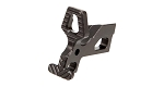Battle Arms Development Enhanced Bolt Catch - Black Phosphate Finish - Lightweight