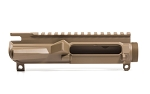 Aero Precision M4E1 Threaded Stripped Upper Receiver - FDE Cerakote