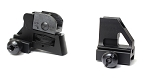 AR-15 Detachable Front and Rear Sight Combo A2-Style Aluminum Matte