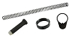 OMEGA Universal Fit Buffer Spring Endplate Castle Nut Kit - For Buffer Tube Mil & Com