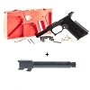 Combo Deal Polymer 80 Glock 17 Full Size 9mm + Nitrided Threaded 9mm Barrel
