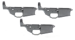 3 PACK -100% NOREEN .308 Multi-cal Billet Lower Receiver