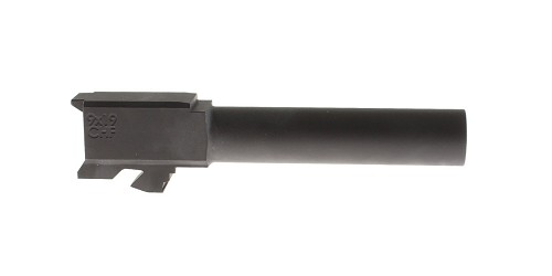 ELD Performance Cold Hammer Forged 9mm Glock 19 Compatible Nitride 1-16T Non-Threaded Barrel