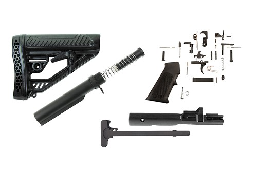 Adaptive Tactical Stock AR-15 Finish Your Rifle Kit - 9mm