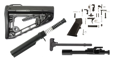 Rodgers Stock AR-15 Finish Your Rifle Build Kit - .450 Bushmaster/.458 SOCOM
