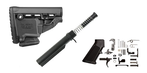 Combo Deal FAB Defense Survival AR-15 Finish Your Lower Rifle Kit