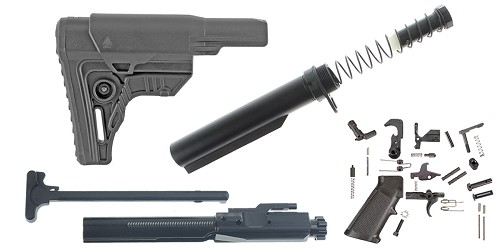 Custom Deal Leapers LR-308 UTG Pro Finish Your Rifle Build Kit - .308 WIN/6.5 Creedmoor/.243 WIN