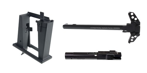 Custom Deal Sylvan Arms 9MM Glock Magwell Conversion Block + 9MM Nitride Bolt Carrier Group +
