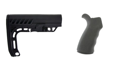 Custom Deal Stock and Pistol Grip Furniture Set: Featuring Lakota Ops + Omega Mfg.