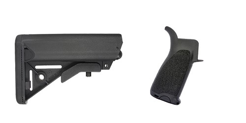 Custom Deal Stock and Pistol Grip Furniture Set: Featuring JE Machine + BCM