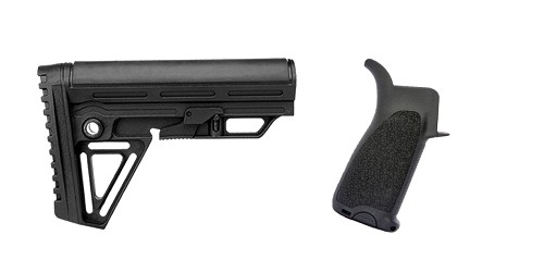 Custom Deal Stock and Pistol Grip Furniture Set: Featuring Trinity Force + BCM