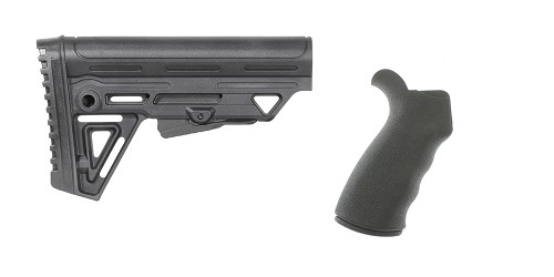 Custom Deal Stock and Pistol Grip Furniture Set: Featuring Trinity Force + Omega Mfg.