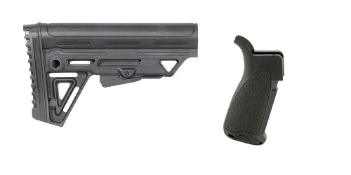 Custom Deal Stock and Pistol Grip Furniture Set: Featuring Trinity Force + Bravo Company