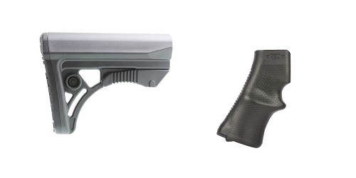 Custom Deal Stock and Pistol Grip Furniture Set: Featuring Leapers + A*B Arms