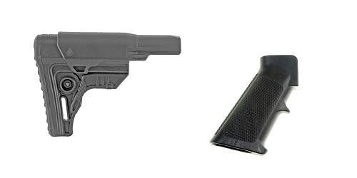 Custom Deal Stock and Pistol Grip Furniture Set: Featuring Leapers + MMC Armory