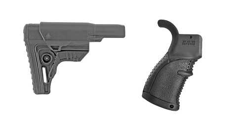 Custom Deal Stock and Pistol Grip Furniture Set: Featuring Leapers + FAB Defense
