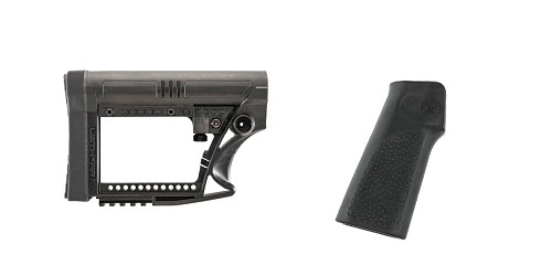 Custom Deal Stock and Pistol Grip Furniture Set: Featuring Luth-Ar + Hogue