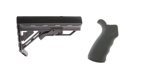 Custom Deal Stock and Pistol Grip Furniture Set: Featuring Davidson Defense + Omega Mfg.