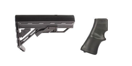 Custom Deal Stock and Pistol Grip Furniture Set: Featuring Davidson Defense + A*B Arms