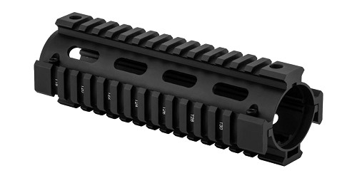 Monstrum AR-15 Drop In Quad Rail Handguard - Carbine Length