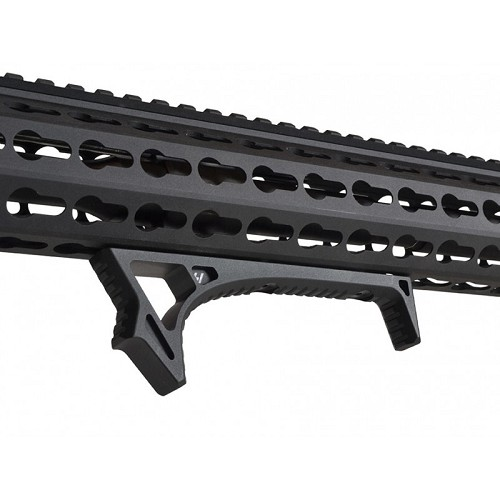 Strike Industries SI LINK Curved AFG Angled Fore Grip For KeyMod & M-Lok - Black