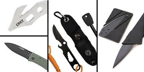 Tactical Gift Box CRKT, K.E.R.T. Key Ring Emergency Tool + UST Paraknife 2.0 FS + KABAR Hunter Folding Knife + 5.5