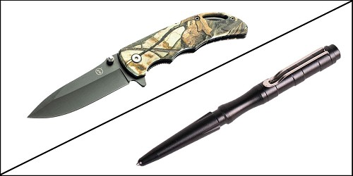 Supply Drop Tactical Pen Stainless Steel + 7.25
