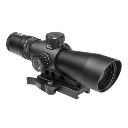 NcSTAR Mark III Gen 2 Mil Dot 3-9x42 Scope BDC Blue Green Illuminated